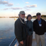 (L-R) Dennis Allen, Wendy Allen, and Don Hoss enjoying the dinner cruise.