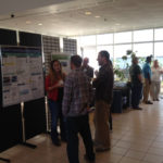 Poster session at CMAST.